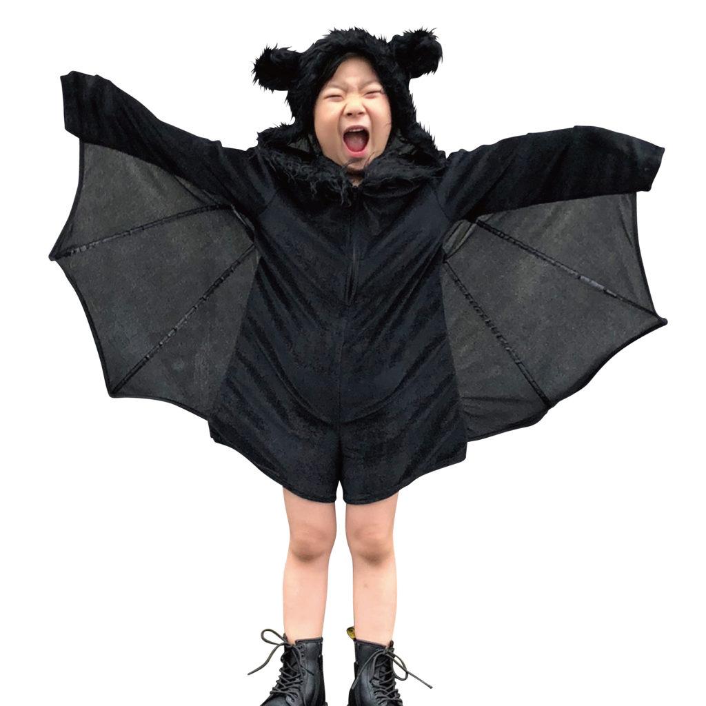 2019年3COINSハロウィンのキッズこうもり仮装衣装